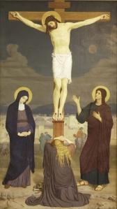 Kreuzigung by Gabriel Wüger (1868)