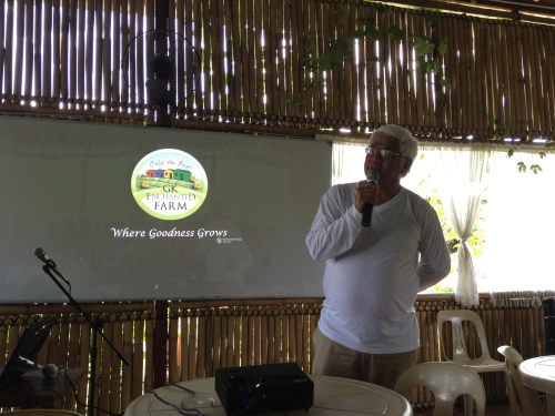 """Antonio """"Tony"""" Meloto, the founder of Gawad Kalinga, speaks at the 2nd Social Innovation Camp on 21-22 April 2012.Photo copyright 2012 Allister Roy S. Chua"""