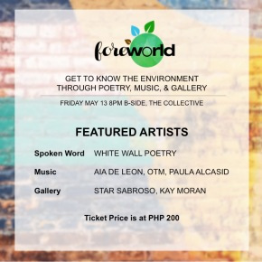 ForeWorld awakens care for the environment through art