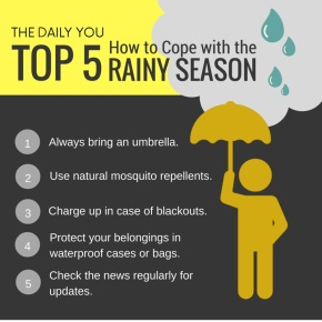 [TDY 5] Coping with the rainy season