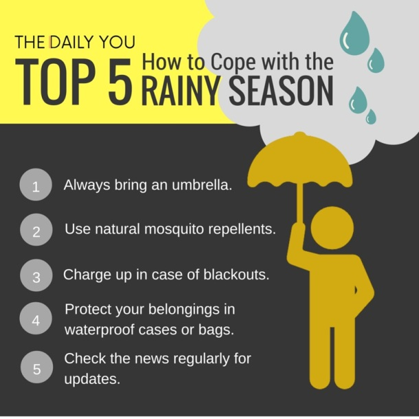 TDY Top 5 Rainy Season