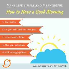 [TDY 5] Having a goodmorning