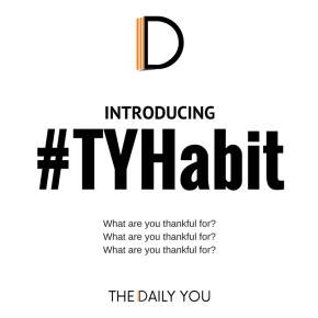 TDY launches the #TYHabit Challenge