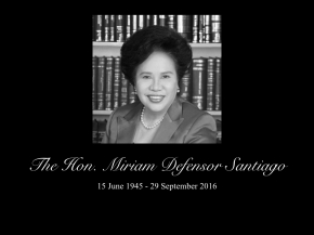 In memoriam: Miriam Defensor Santiago and the Daily Her
