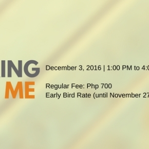 SIGN UP: Discovering the Daily Me on 3 December 2016