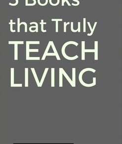 [TDY 5] 5 books that truly teach living